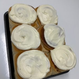 Stacy Lynn's Frosted Cinnamon Rolls – 6 Count